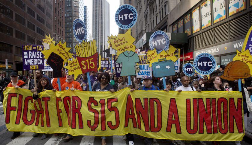 El trabajo no acaba con el hambre en Nueva York