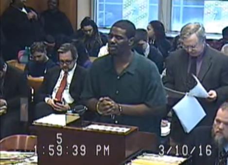 Brian Earl Taylor buscaba que le redujeran la sentencia.