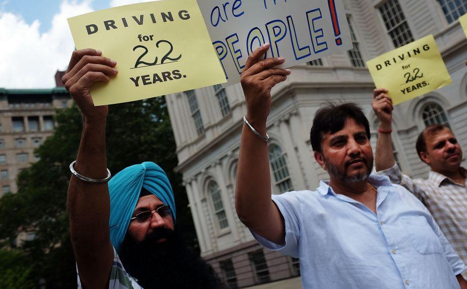 Para ser taxista en NYC no hace falta hablar inglés
