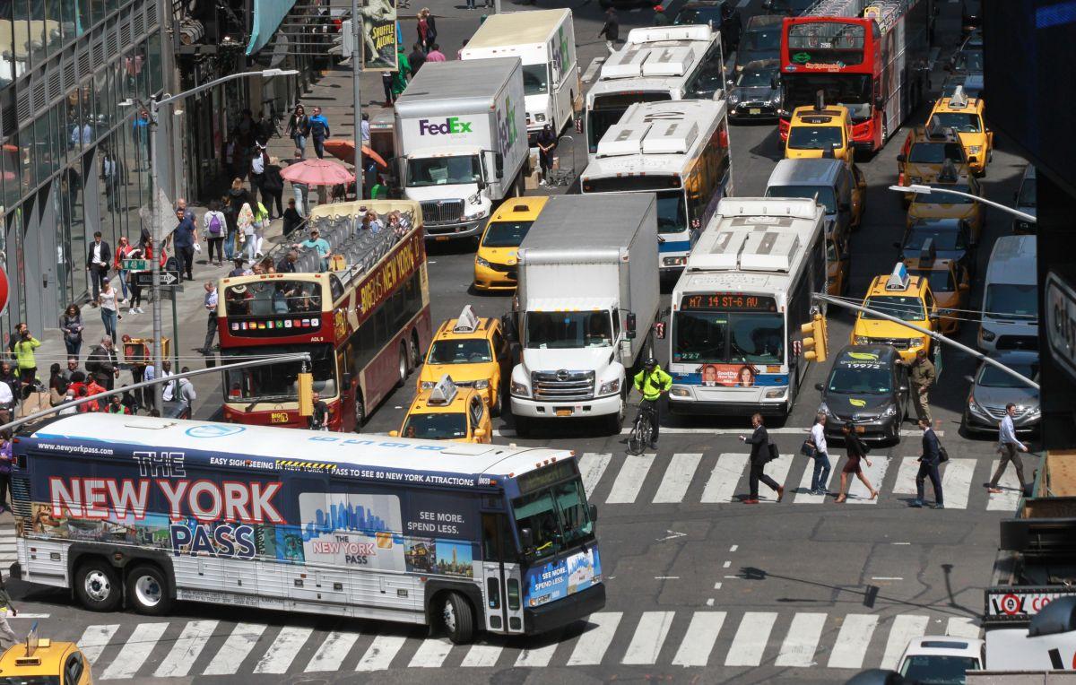 Visión Zero fue lanzada para disminuir las muertes en las carreteras de Nueva York.