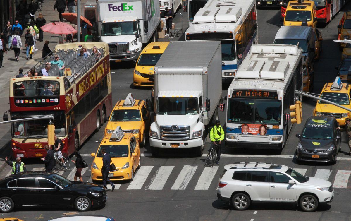 Podrías tener que pagar para conducir por Manhattan
