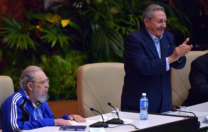 Partido Comunista de Cuba reelige a Raúl Castro como primer secretario