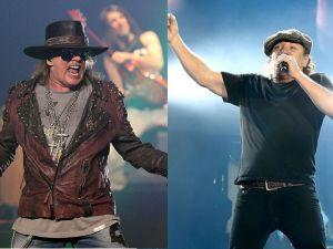 Confirman a Axl Rose como nuevo vocalista de AC/DC