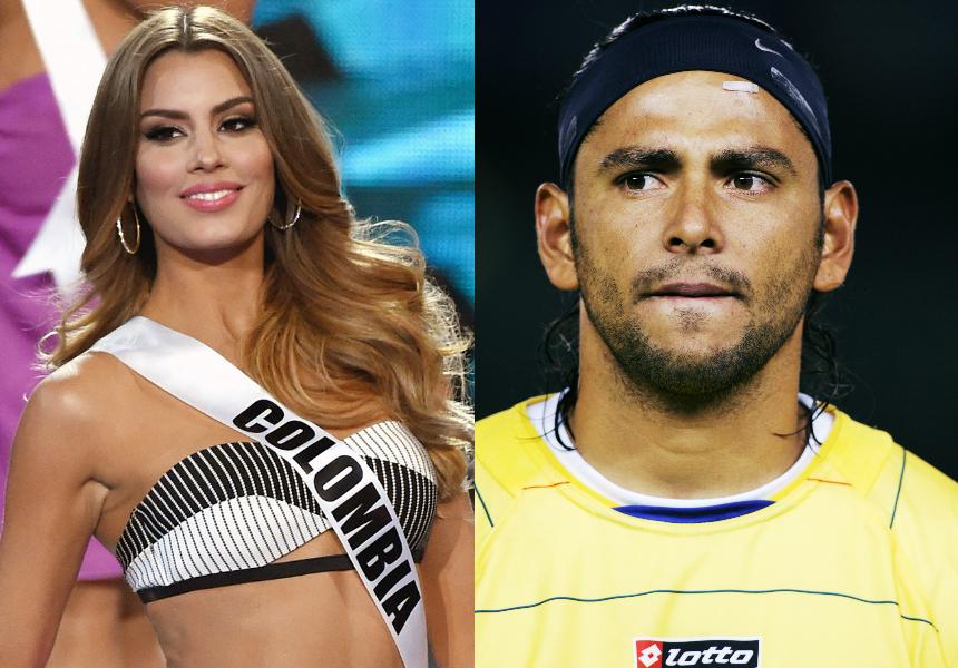 El ex futbolista ha asegurado que el entorno de la Miss contribuyó a que se separaran.