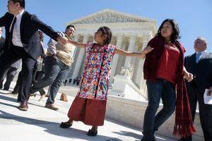 Sophie Cruz llega a la Casa Blanca, pero sin sus padres