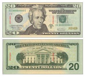 Ella será la primera mujer en los billetes de dólar en EEUU