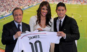 Video: El momento incómodo que vivió la esposa de James Rodríguez a su salida del Bernabéu
