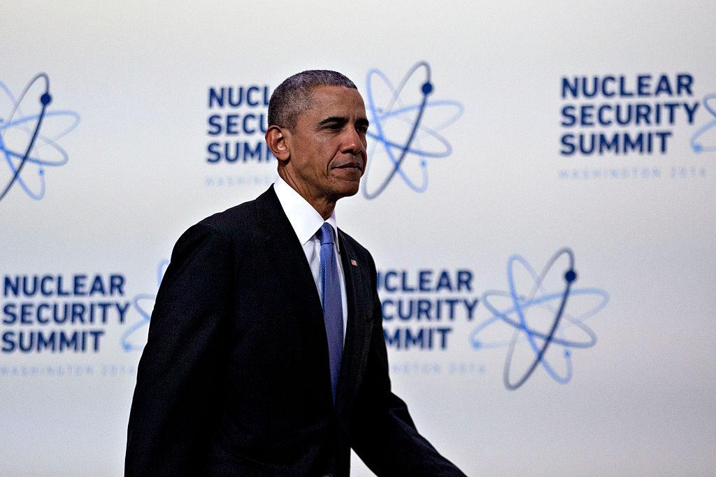 Obama ha expresado preocupación por las armas nucleares a lo largo de su mandato. Andrew Harrer/Pool/Getty Images