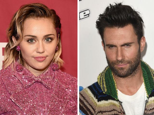 Cyrus y Levine integran el equipo de coaches del programa junto a Blake Shelton y Alicia Keys.