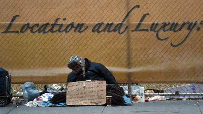 Nueva York rico, Nueva York pobre: las dos caras de la ciudad más icónica de EEUU