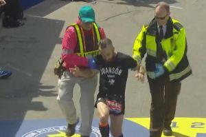 Video: Mexicano conmovió a todos con su esfuerzo en la Maratón de Boston