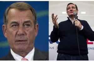 """Boehner: """"Ted Cruz es la personificación de Lucifer"""""""
