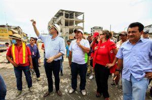 EEUU dona ayuda por valor de un millón de dólares a Ecuador tras el terremoto