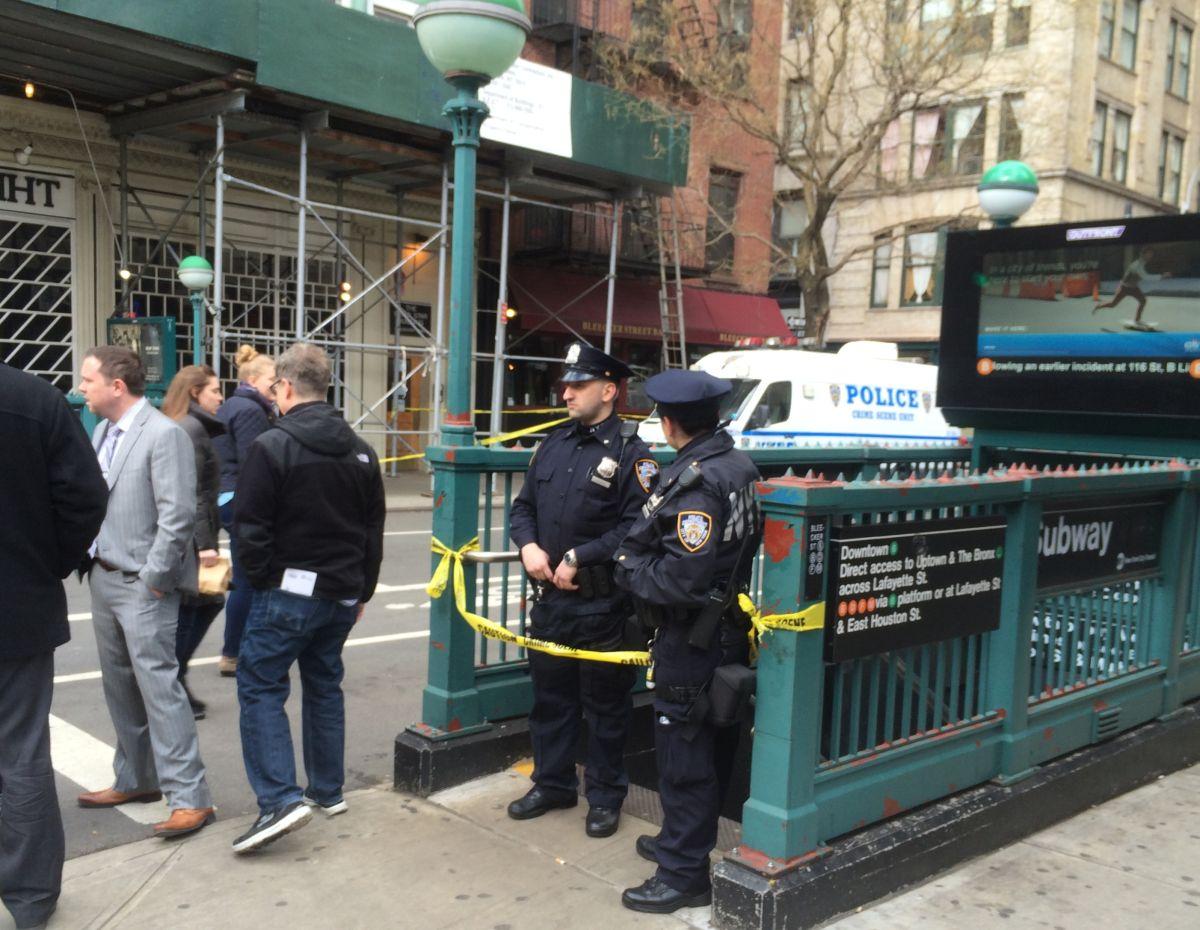 Acuchillan y roban a un hombre en plataforma del tren 6