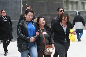 Trabajadores unen fuerzas en inicio de juicio por muerte de obrero