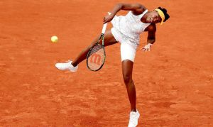 Venus Williams estará en octavos de final de Roland Garros
