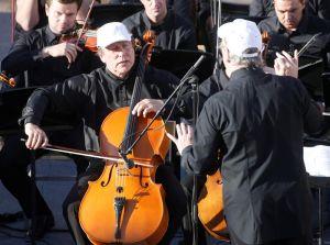 Rusia celebra con concierto rescate de Palmira