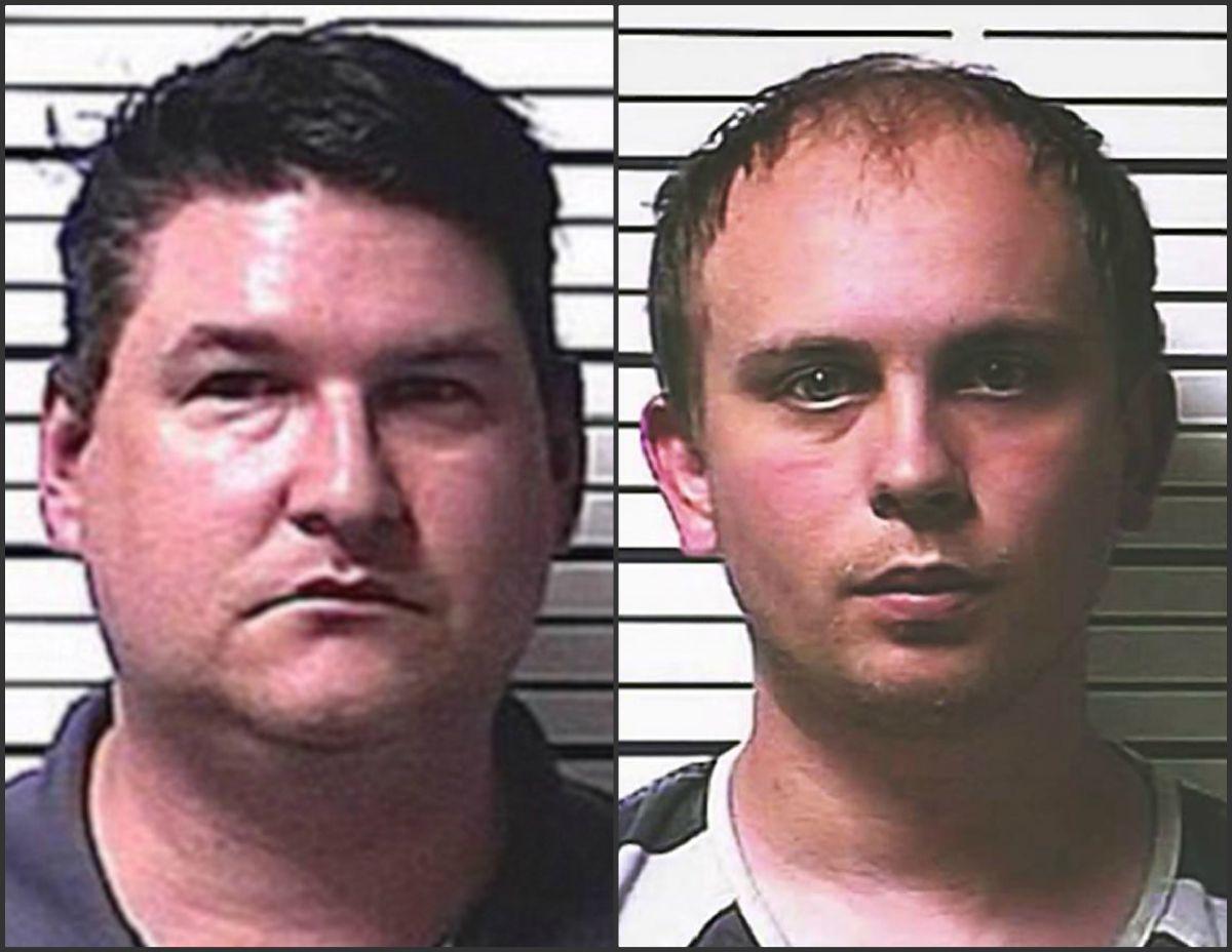 Keith Strawn (izquierda) y Aaron Seaton (derecha).