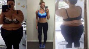 La transformación de la chica que perdió 194 libras en 20 meses (fotos)