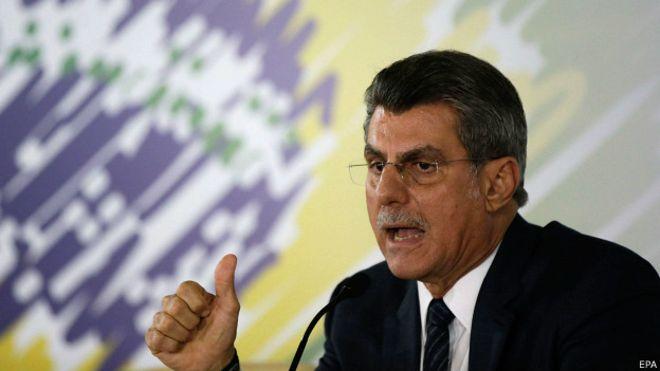 Romero Jucá ha sido vocero en el Senado de los presidentes de Brasil en los últimos tres periodos.