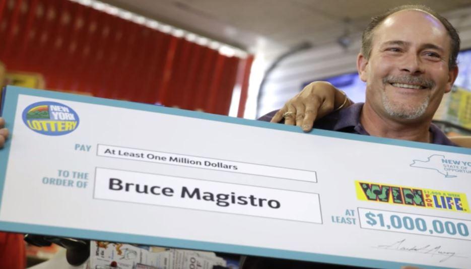 Bruce Magistro ya ha recogido su premio por segunda vez: 1 millón de dólares que se añade a su cuenta corriente.