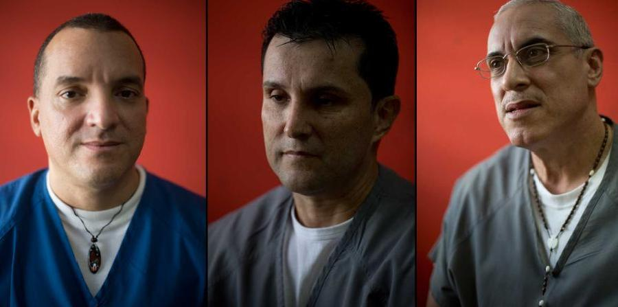 Nelson Ruiz Colón, José A. Caro Pérez y Nelson Ortiz Álvarez convictos por el asesinato.