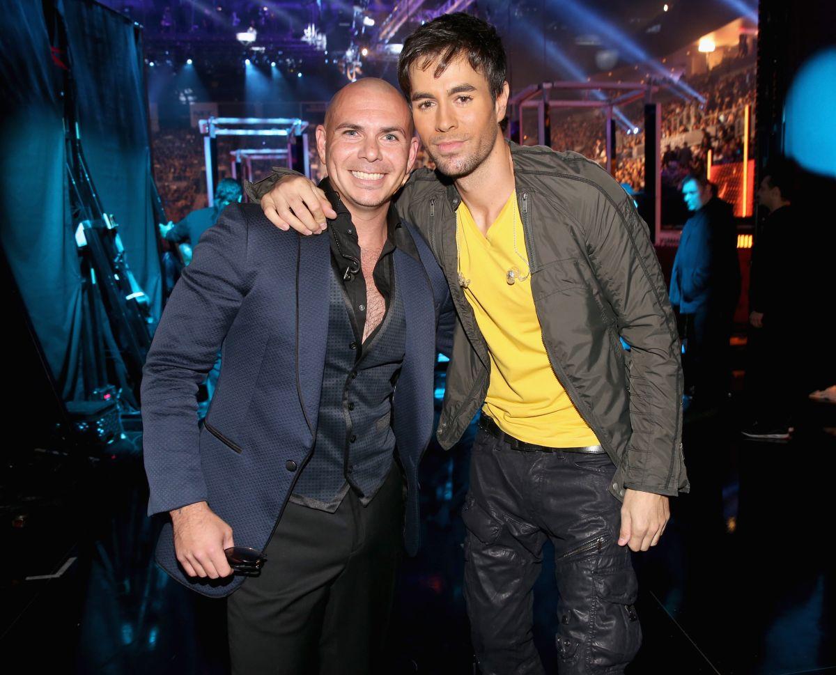 Pitbull y Enrique Iglesias comparten una bonita amistad fuera y dentro del escenario.
