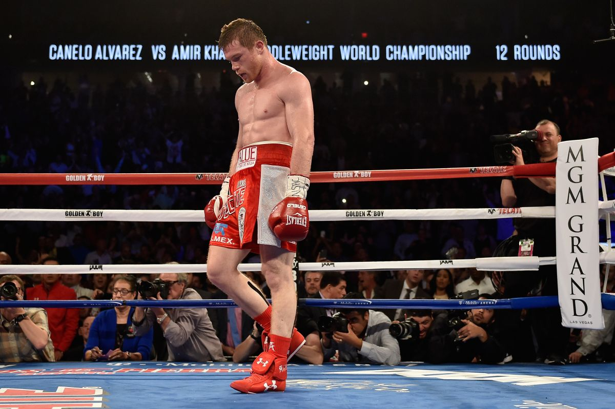 'Canelo' Álvarez derrotó a Amir Khan por nocaut el 7 de mayo en Las Vegas.