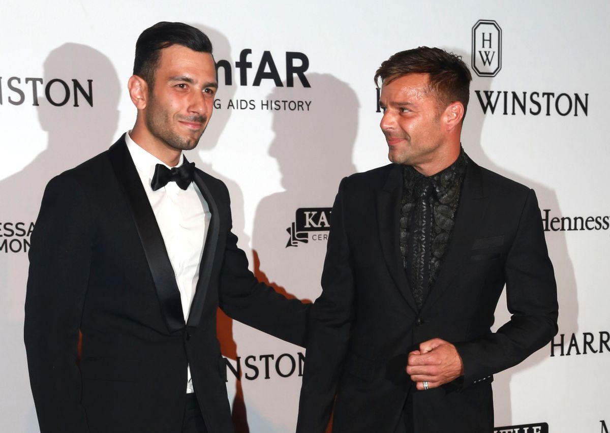 Jwan Yosef y Ricky Martin.
