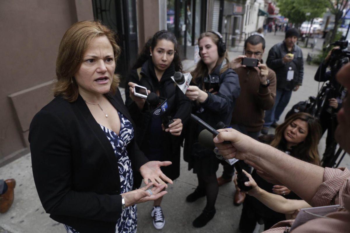 """La presidenta del Concejo Municipal Melissa Mark-Viverito, dijo que """"estas redadas tienen que terminar ya""""."""