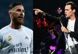 ¿Qué tienen en común Marc Anthony y el futbolista Sergio Ramos?
