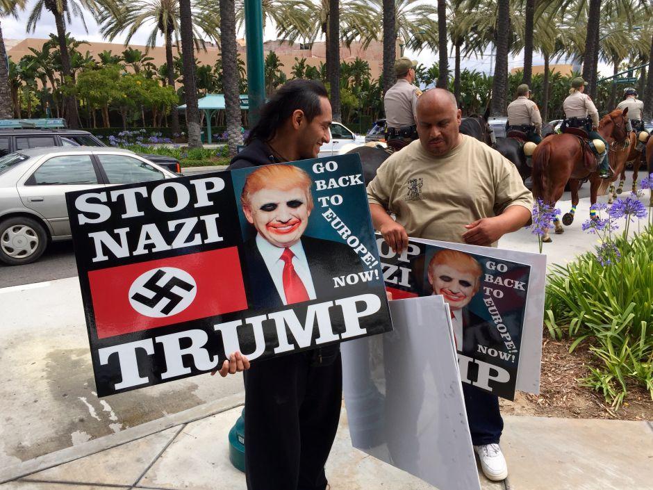 Trump ya levantó su propio muro ante los latinos