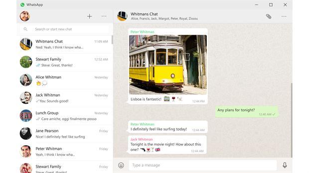 La versión para PC de WhatsApp es igual a la que corre en un navegador.