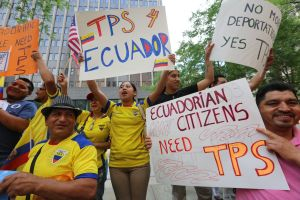 Ecuatorianos en Nueva York piden que se les otorgue el TPS