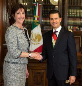"""Roberta Jacobson: EEUU muy interesado en juzgar al """"Chapo"""""""