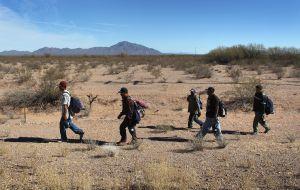 La caminata del migrante llega a su destino