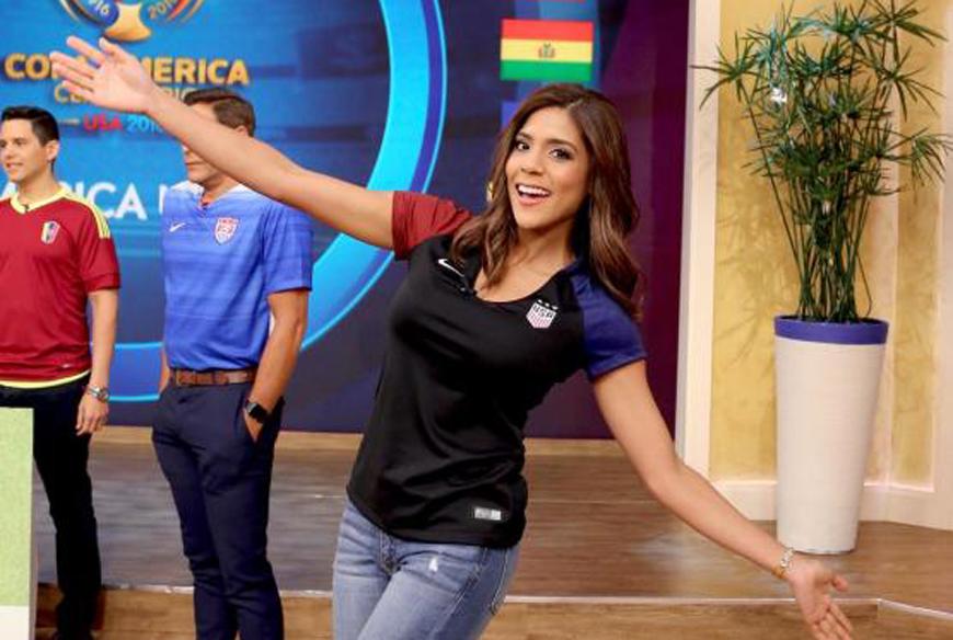Francisca Lachapel y más famosos con la fiebre de la Copa América