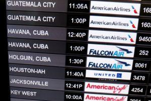 Seis aerolíneas reciben permiso para operar vuelos regulares a Cuba