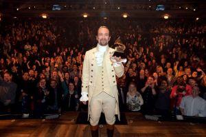 """""""Hamilton"""", de Lin Manuel Miranda, uno de los favoritos en los premios Tony"""