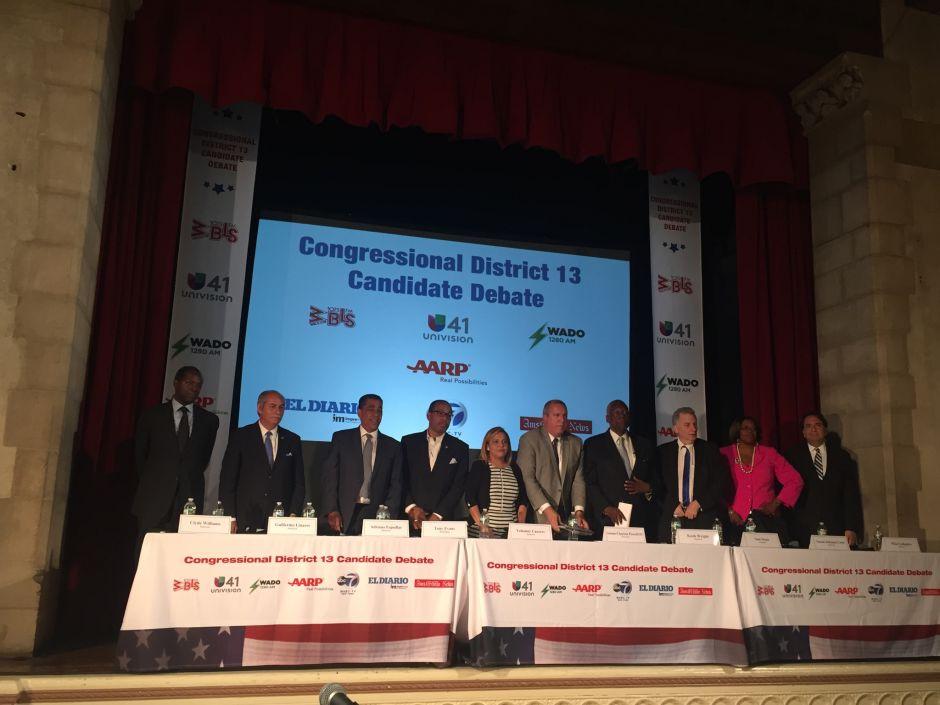 Candidatos del Distrito 13 exponen sus agendas
