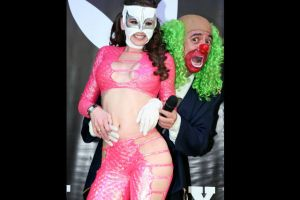 """Fotos: Brozo reveló la identidad de """"La Reata"""", su sexy asistente"""