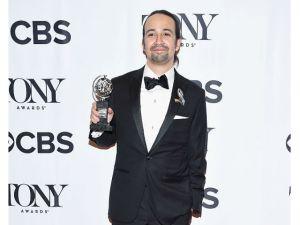 Lin Manuel Miranda emociona con su mensaje de amor en los premios Tony