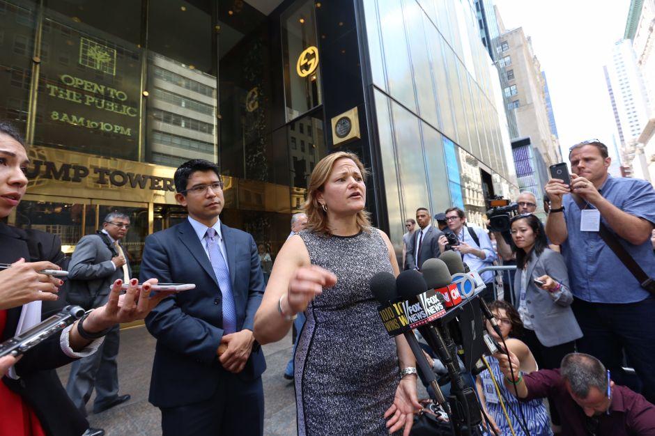 Líderes de NYC califican a Donald Trump de racista