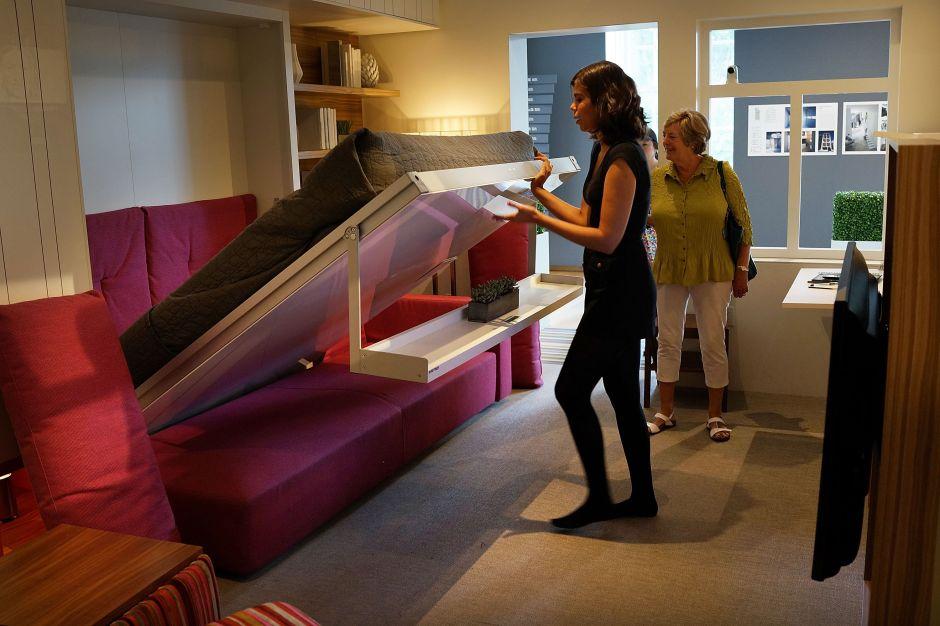 Lo único grande en los nuevos micro-apartamentos de Manhattan es su precio
