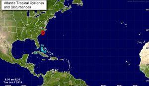 Tormenta Colin provoca fuertes lluvias en Carolina del Norte