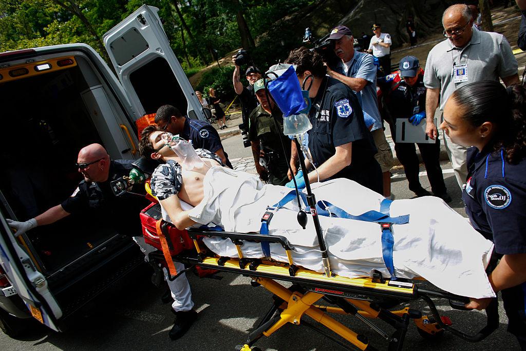 Hombre herido por explosión en Central Park