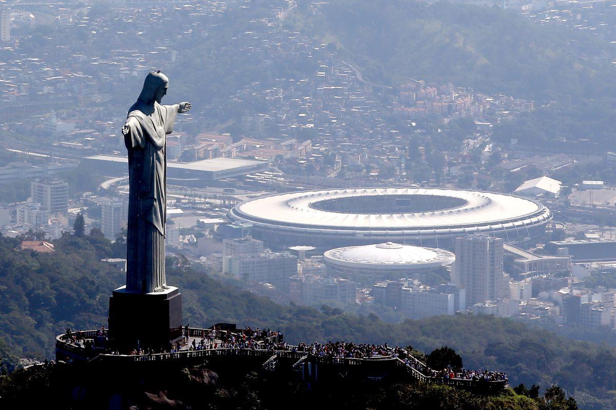 El Maracaná es uno de los grandes templos del fútbol.