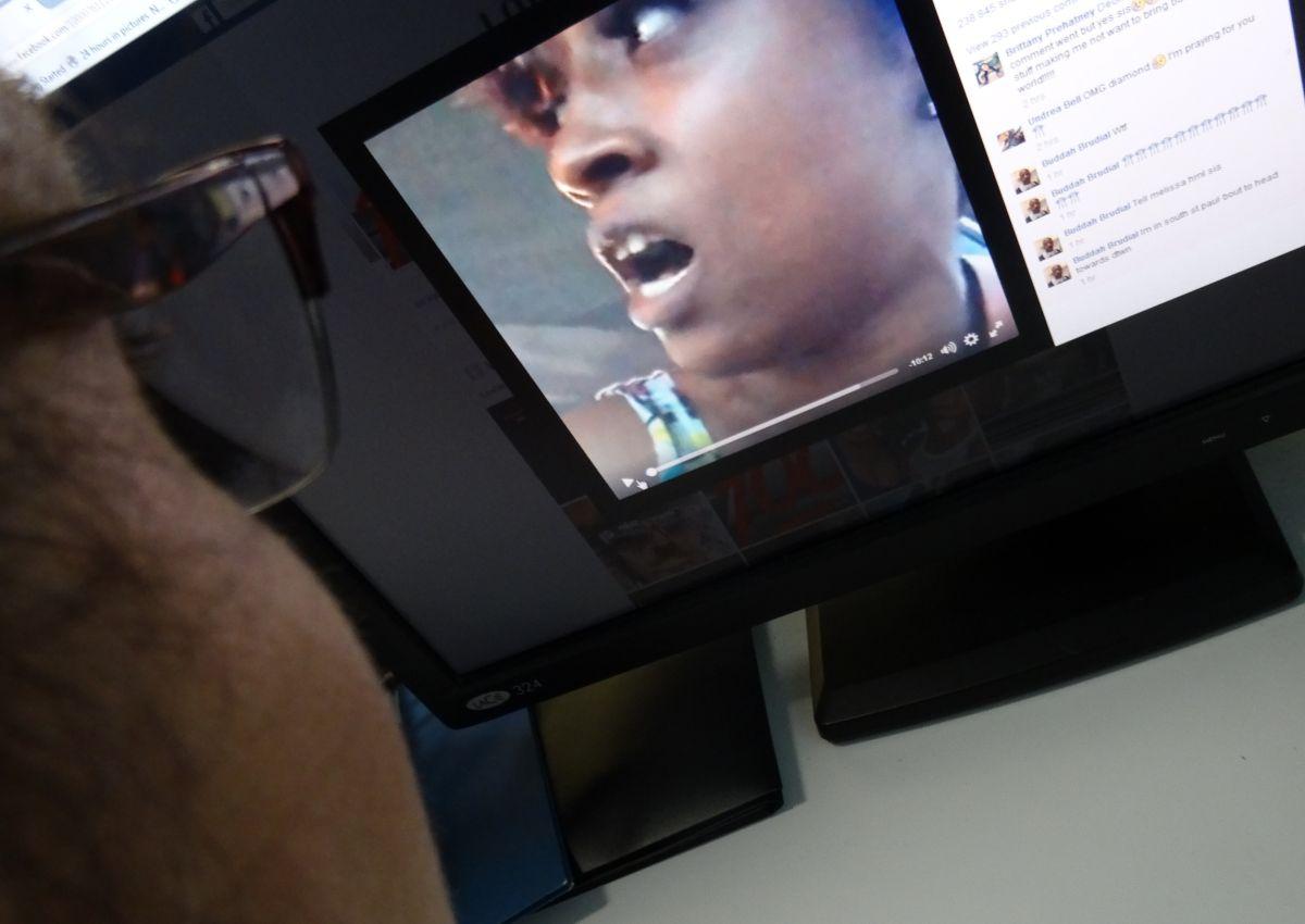La mujer, identificada en su página de Facebook como Lavish Reynold transimitió en vivo el asesinato de su pareja.