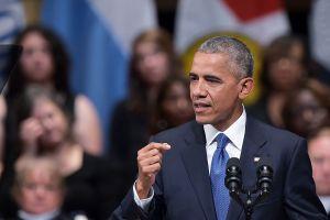 Obama pide unidad nacional en medio de protestas y tensiones raciales