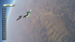 El increíble video de la primera persona en saltar sin paracaídas desde un avión